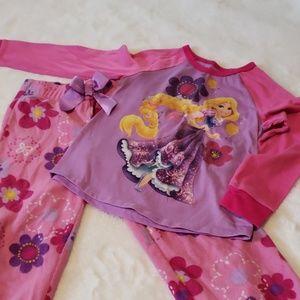 Rapunzel pajama set